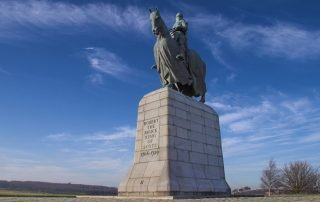 Robert the Bruce statue Bannockburn