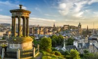 Famous Edinburgh view