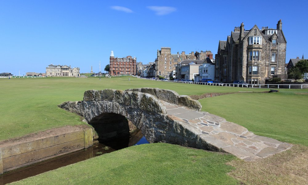 The Swilcan Bridge in St Andrews