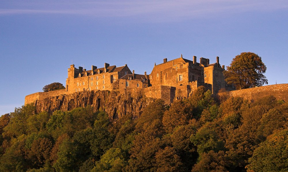 Stirling Castle, medieval Royal seat of Scotland