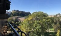 View from Scott Monument towards Edinburgh Castle