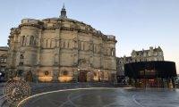McEwan Hall Edinburgh at Dusk
